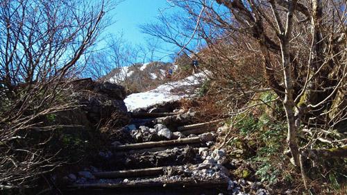 春山登山からのスノボ_e0173183_9485377.jpg
