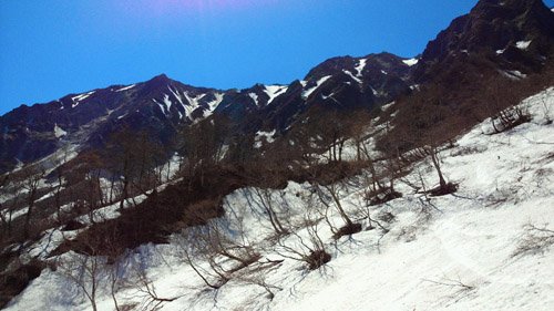 春山登山からのスノボ_e0173183_955057.jpg