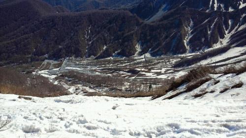 春山登山からのスノボ_e0173183_9573561.jpg