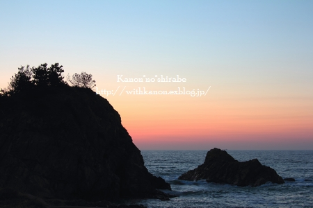日本海に沈む夕日_d0148187_1301489.jpg