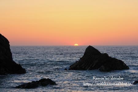 日本海に沈む夕日_d0148187_13041100.jpg