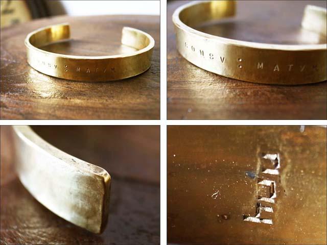 huu[エイチ・ユー・ユー] brass bangle #1 [B-204] MEN\'S/LADY\'S_f0051306_1723461.jpg