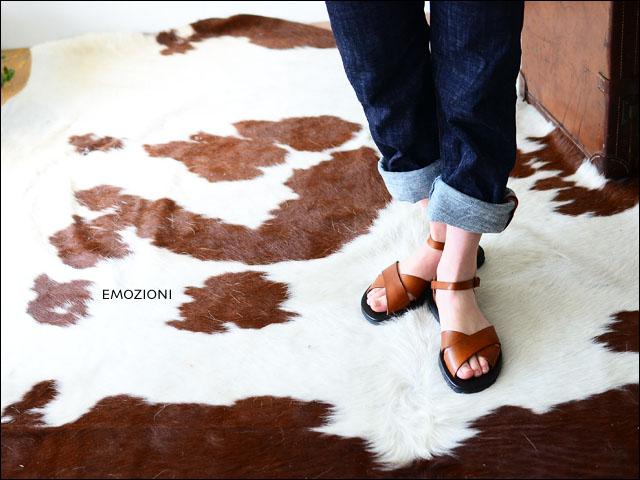 EMOZIONI [エモジオーニ] レザー サンダル [W1015] [LADY\'S]_f0051306_1762080.jpg