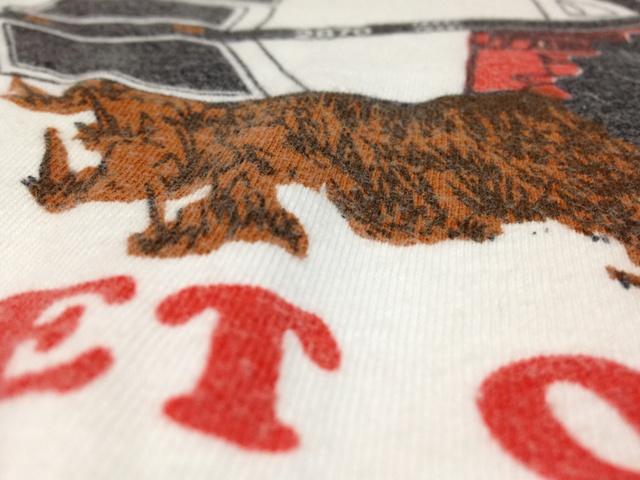 5/1(火)入荷!70'S バータグ チャンピオン 染込みプリント リンガーTシャツ _c0144020_229256.jpg