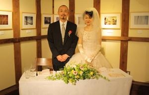 蔵織で結婚式がありました・・・_d0178448_1912939.jpg