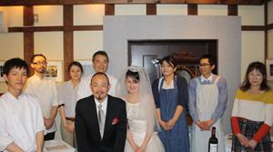 蔵織で結婚式がありました・・・_d0178448_22225072.jpg