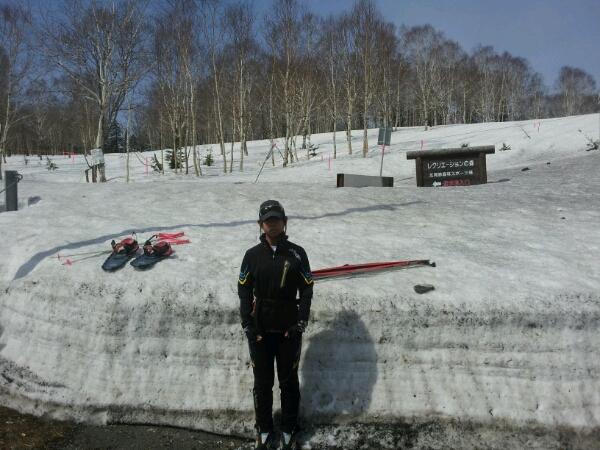 2012.4.30  そらぽん北見峠コースでスキー_d0160199_10392167.jpg