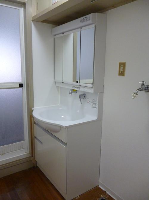 洗面所、トイレリフォーム_e0184941_14384638.jpg