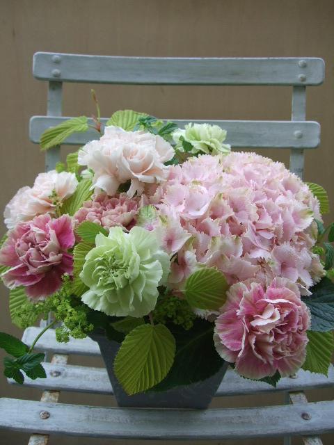 オークリーフ(母の日のあおすすめアレンジメント・花束)_f0049672_11381757.jpg