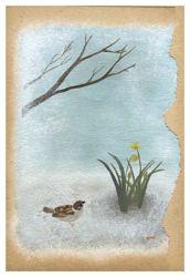 カトレア草舍 原画展 『渡りの夜から、冬のおわりへ』_d0028589_2205655.jpg