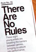 雑誌ニューヨーク・マガジンの「どうやったらアートの世界で成功するか」特集号_b0007805_6454595.jpg