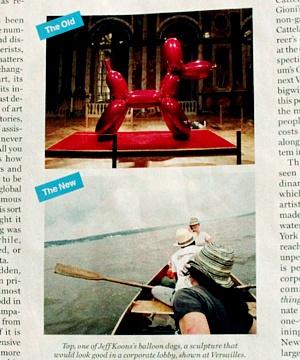 雑誌ニューヨーク・マガジンの「どうやったらアートの世界で成功するか」特集号_b0007805_6455487.jpg