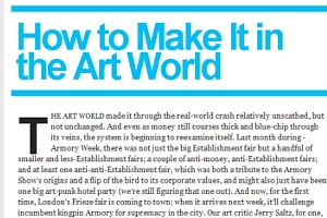 雑誌ニューヨーク・マガジンの「どうやったらアートの世界で成功するか」特集号_b0007805_6522569.jpg