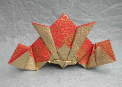 クリスマス 折り紙 折り紙 かぶと : yzwakoo77.exblog.jp