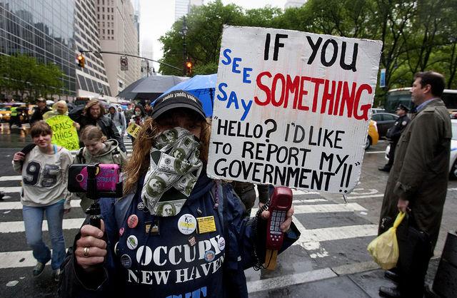 Occupy Wall Street 2012:「ウ...