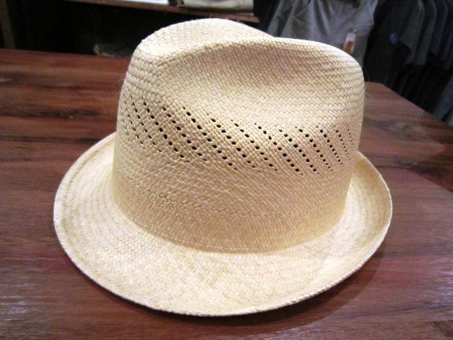 "SANFRANSISCO HAT \""PANAMA HAT\"" ご紹介_f0191324_9364830.jpg"
