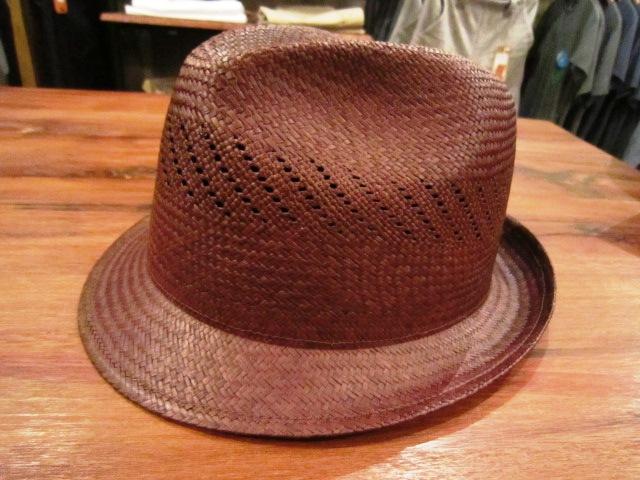 "SANFRANSISCO HAT \""PANAMA HAT\"" ご紹介_f0191324_9371829.jpg"
