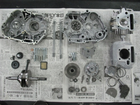 モンキー122ccエンジン ナイスケースで_e0114857_2531466.jpg
