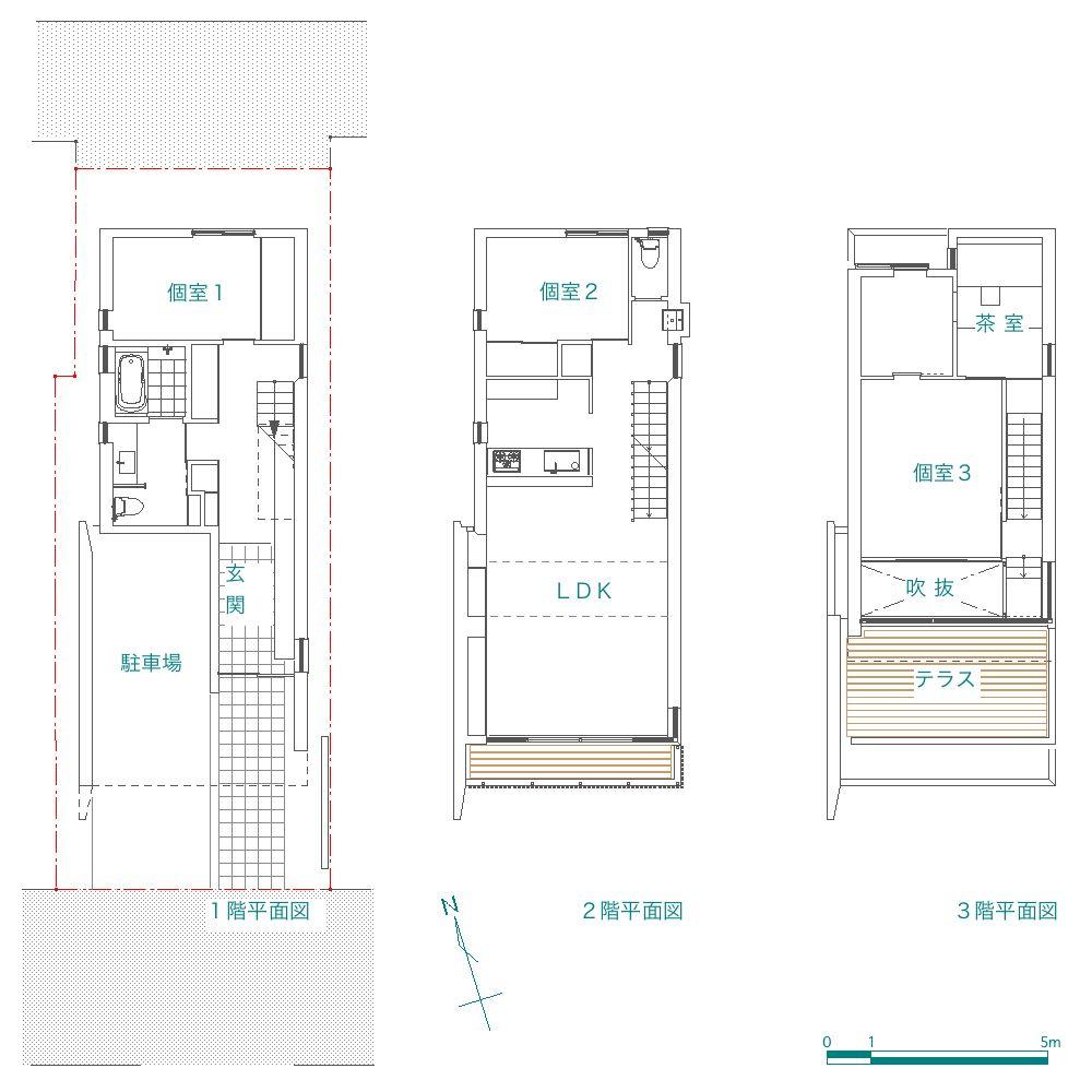 「浅草の家」 site & plan_f0230666_20345213.jpg