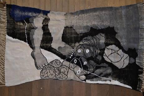 1年生 杉田瑞希さん 作品完成披露展_c0198292_1858176.jpg