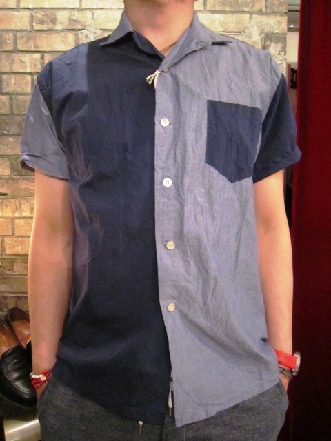 "melple \""夏場に使えるシャツアイテム\"" ご紹介_f0191324_9294981.jpg"