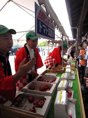 生産者によるトマト試食会_c0141652_1035467.jpg