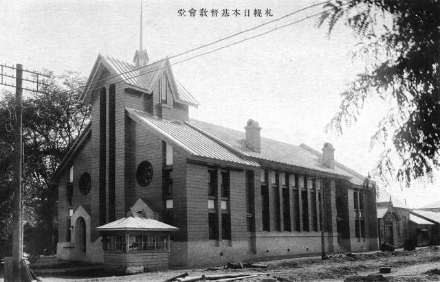 日本キリスト教会札幌北一条教会_c0112559_12301869.jpg