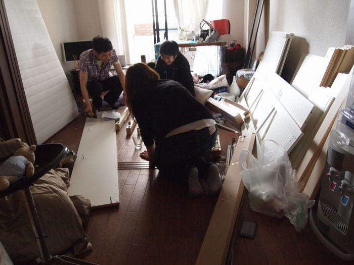 miumiu春のBBQ~ 前後ベッド作る。_a0050302_14352255.jpg