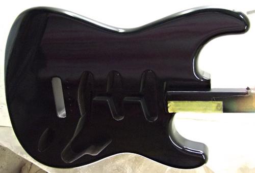上地さんオーダーの「Moderncaster S #017」を着色。_e0053731_1858333.jpg