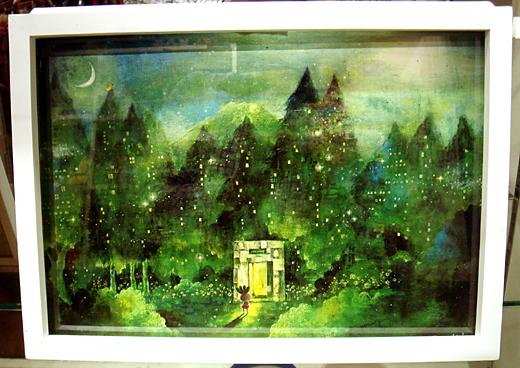 末吉陽子個展『コラボ作品抽選販売』_f0010033_20435792.jpg