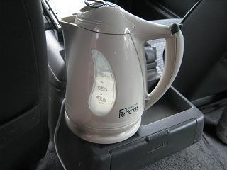GW⑤車の中でコーヒーを・・・_a0139242_5111345.jpg