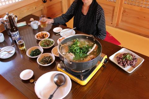 ソウル郊外のレストラン、ナッソンジェ(楽善斎)で、絶品!鶏の煮込み「タッペッスッ」_a0223786_17171565.jpg