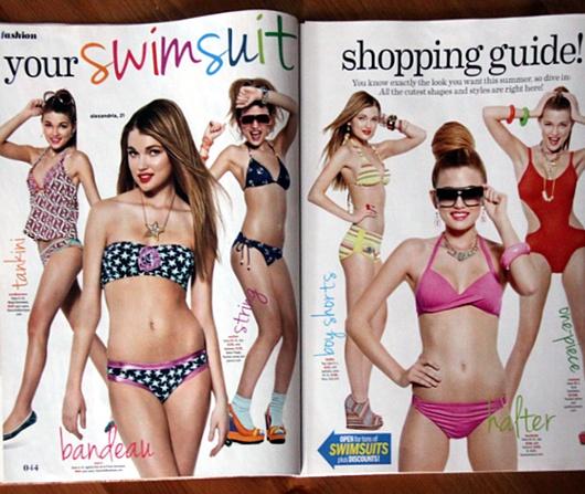 中学生の女の子たちがファッション誌「セブンティーン」のニューヨーク本社前で抗議デモ_b0007805_5162171.jpg