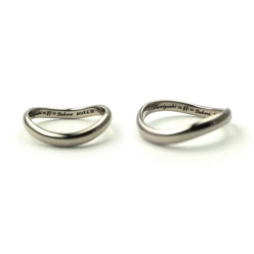 「絆」と「無限大」をコンセプトにした結婚指輪_e0131432_14526100.jpg
