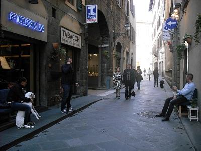 フィレンツェのカフェ・フロリアン_a0172661_18575711.jpg
