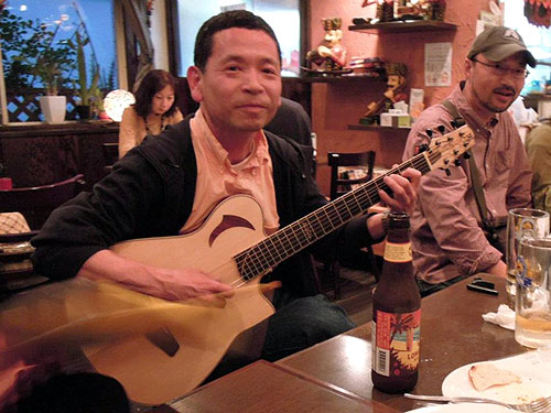 大阪からのお客様 ~ バターチキン ~ ギターセミナー_c0137404_20573541.jpg