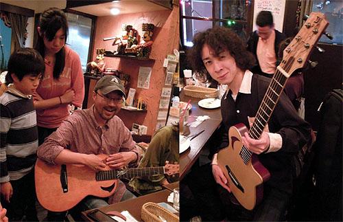 大阪からのお客様 ~ バターチキン ~ ギターセミナー_c0137404_21141666.jpg