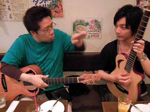 大阪からのお客様 ~ バターチキン ~ ギターセミナー_c0137404_21152586.jpg