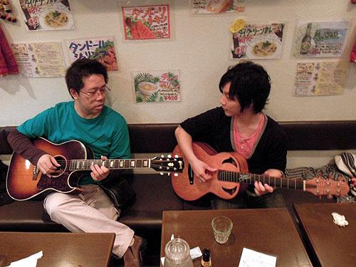 大阪からのお客様 ~ バターチキン ~ ギターセミナー_c0137404_2128617.jpg