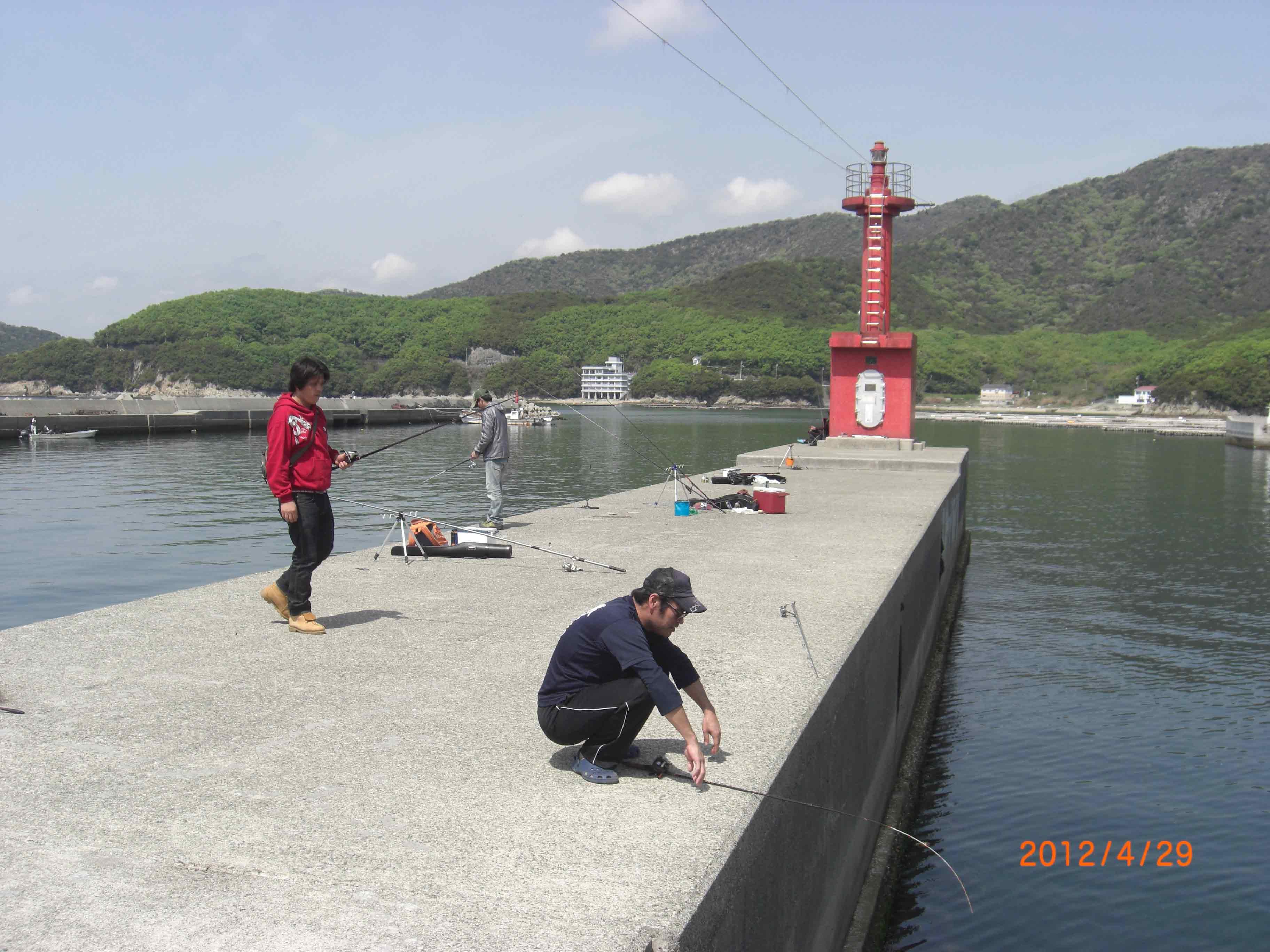 播磨 室津漁港に釣りに行って来ました。 : 兵庫釣りクラブ 海 ...