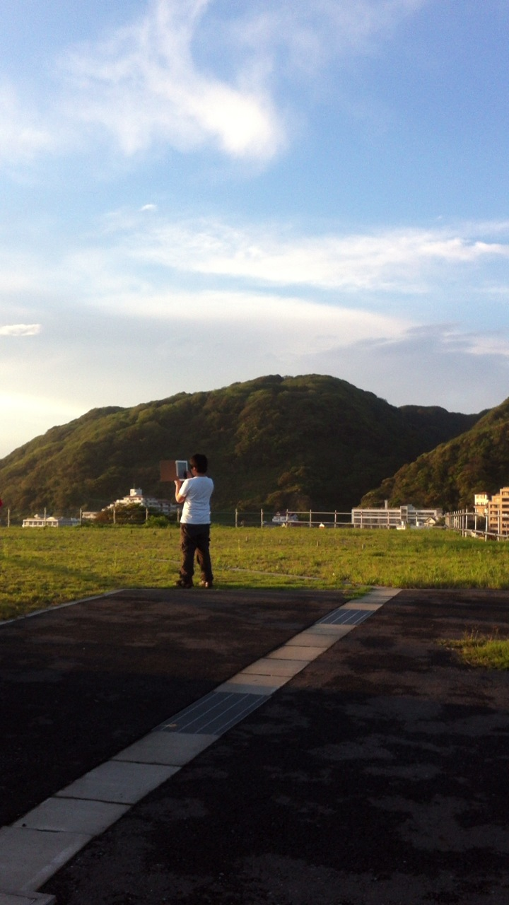 葉山のカラフルカフェ_f0083294_1432384.jpg