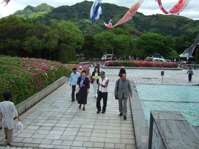 5月3日 永源山公園つつじまつり、まんどころ来てみん祭_c0104626_1012588.jpg