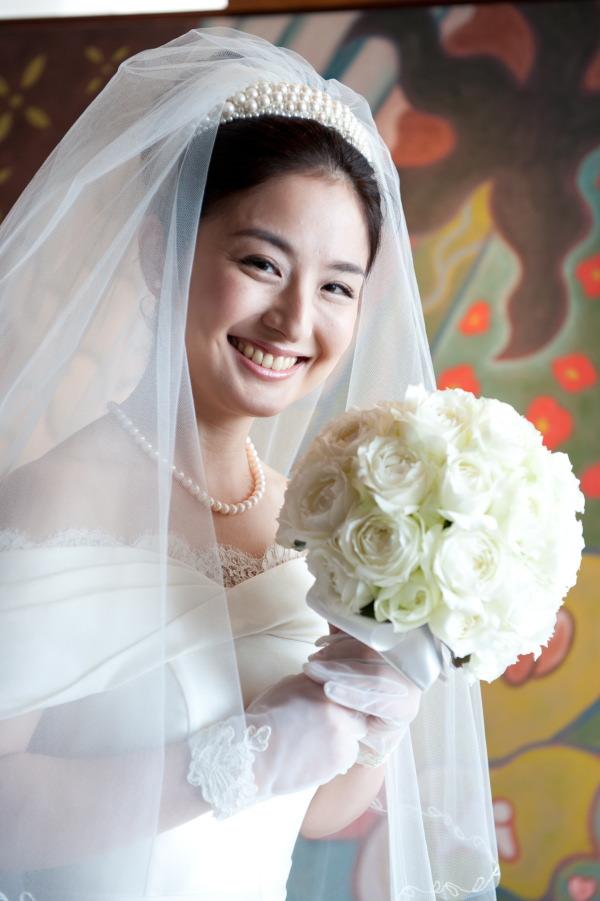 新郎新婦様からのメール 梅雨明けのころ 真珠と翡翠 パークハイアット東京さまへのブーケ_a0042928_19332263.jpg