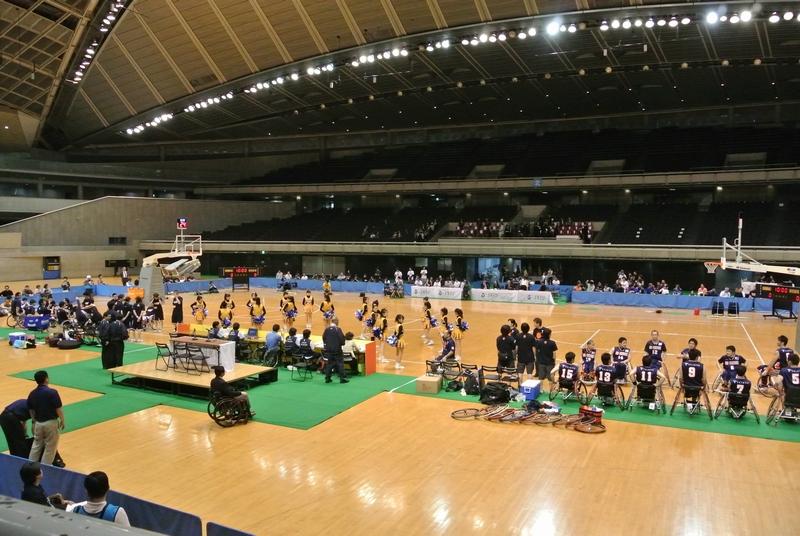 車椅子バスケットボール全日本選手権、3日目の決勝戦_e0089232_19521091.jpg