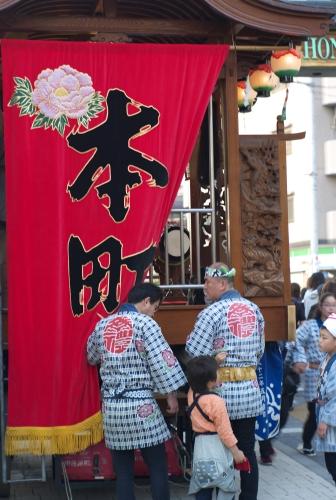 府中 くらやみ祭 神輿渡御(1)_e0129750_951188.jpg