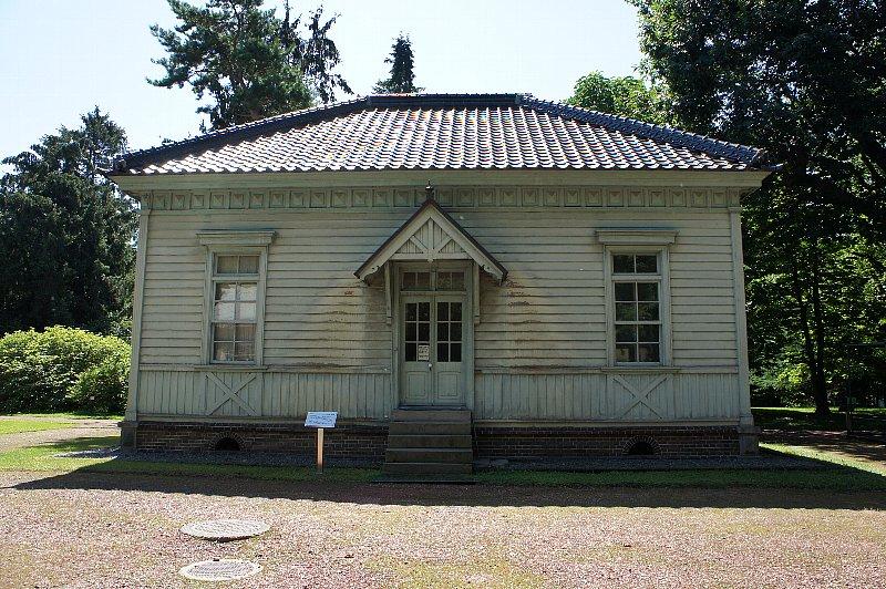 北海道大学農学部植物園 博物館事務所_c0112559_13122336.jpg