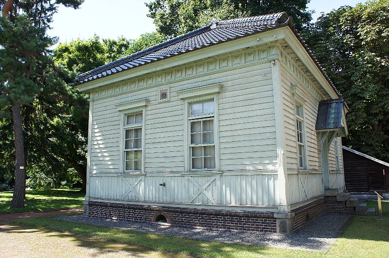 北海道大学農学部植物園 博物館事務所_c0112559_13125240.jpg