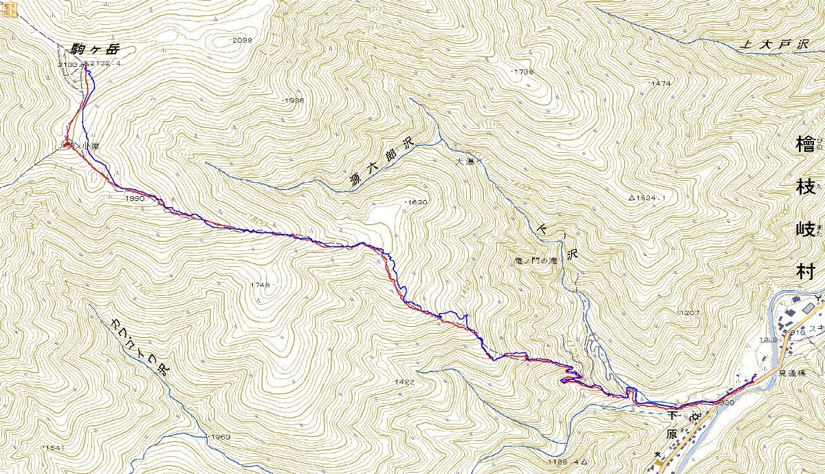 登り1/3は板を担いだ会津駒ヶ岳 ~ 2012年5月6日_f0170180_23211254.jpg