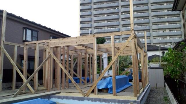 O様邸「南通り築地の家」 工事中です。_f0150893_17142577.jpg