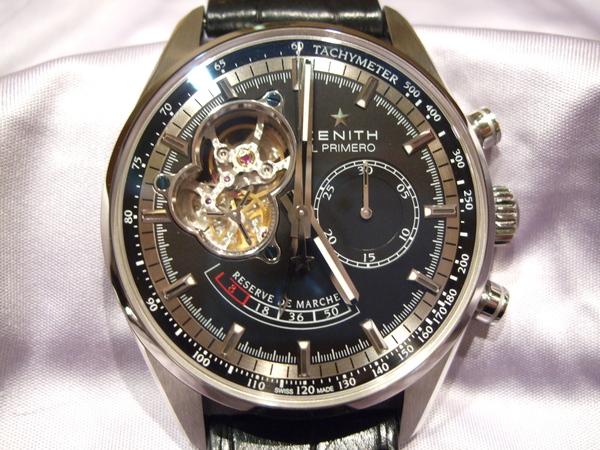 huge selection of b52cc 652ac ゼニス エル・プリメロ クロノマスター オープン : 熊本 時計の ...
